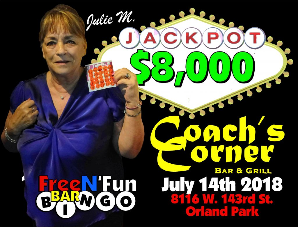 Julie M Jackpot Winner 2018