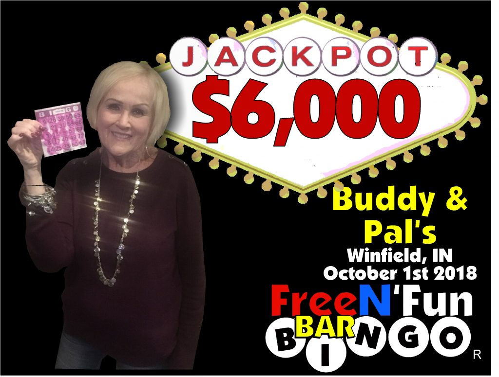 Jackpot Winner 2018 Sharon S
