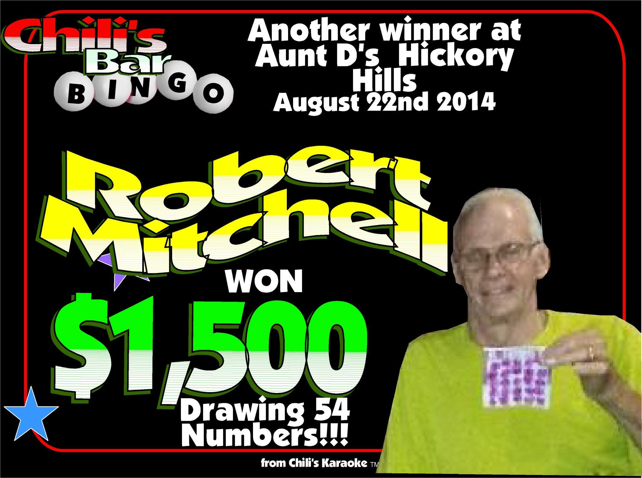 Robert Jackpot Winner 2014