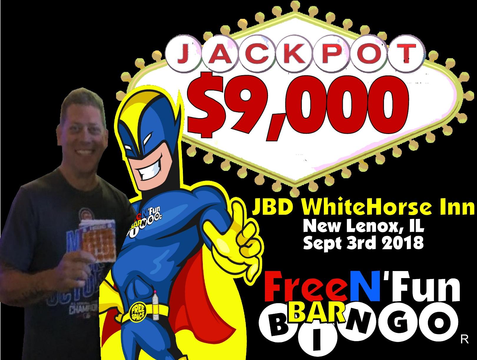 Jackpot Winner 2018 Steve W