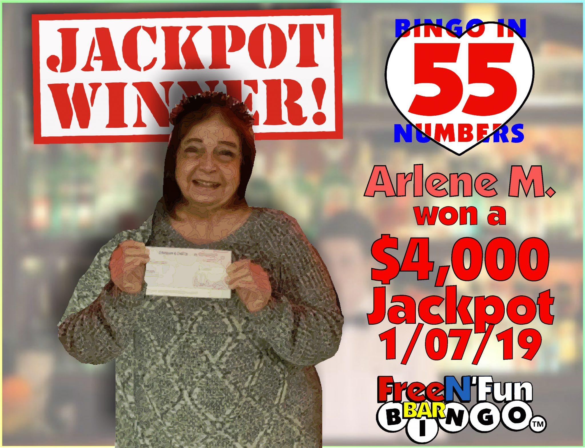 Jackpot Winner 2019